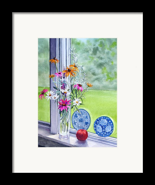 My Kitchen Window Framed Print By Karol Wyckoff