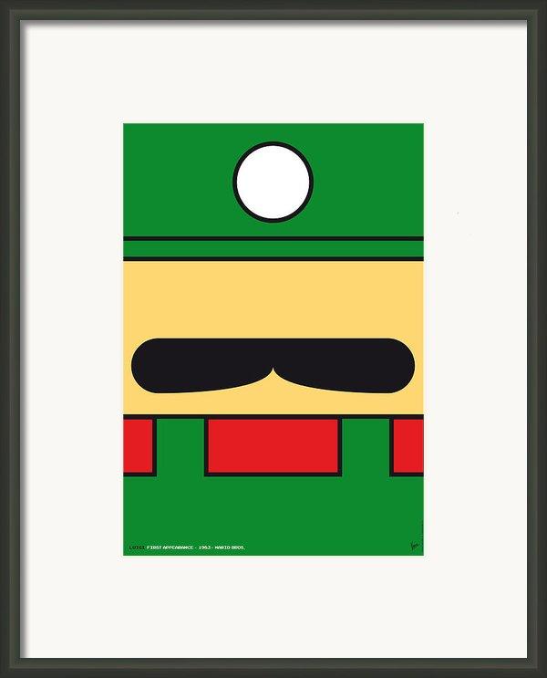 My Mariobros Fig 02 Minimal Poster Framed Print By Chungkong Art