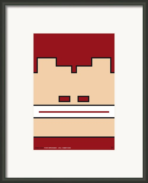 My Mariobros Fig 03 Minimal Poster Framed Print By Chungkong Art