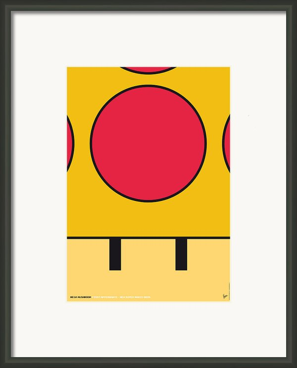 My Mariobros Fig 05c Minimal Poster Framed Print By Chungkong Art