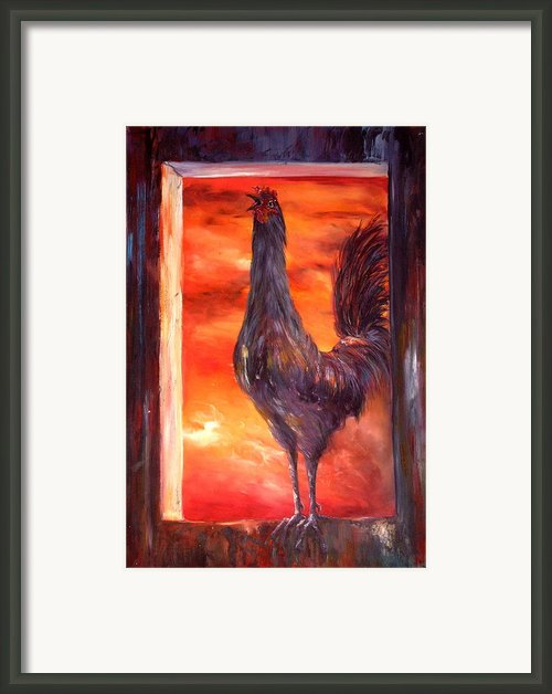 My Nightmare Framed Print By Jean Walker