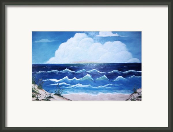 My Private Beach Framed Print By Dwayne Barnes