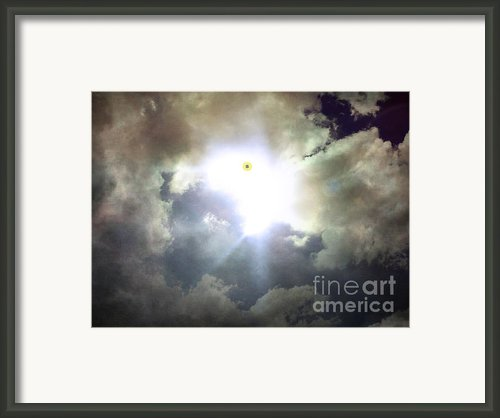 My Soul Up There Framed Print By Joe A