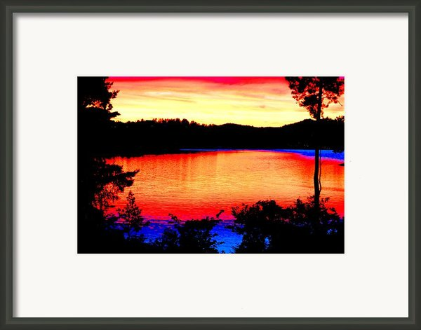 My Sunset Framed Print By Hilde Widerberg
