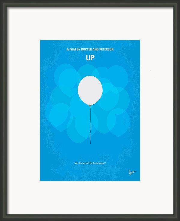 My Up Minimal Movie Poster Framed Print By Chungkong Art