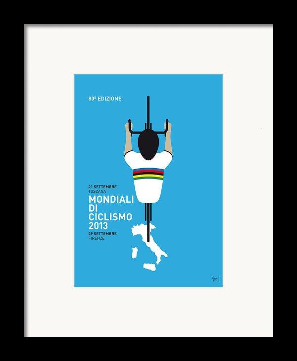 My World Championships Minimal Poster Framed Print By Chungkong Art