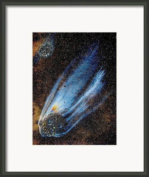 Mysterious Traveler Framed Print By Samuel Sheats