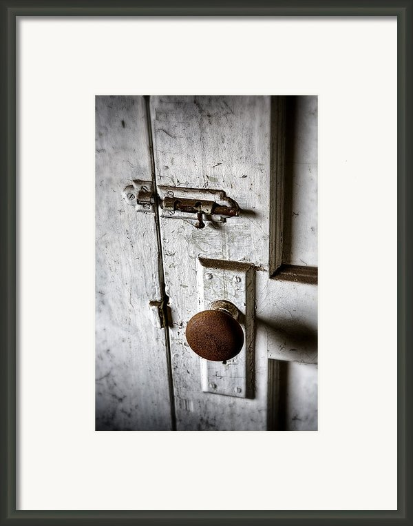 Mystery Door Framed Print By Caitlyn  Grasso