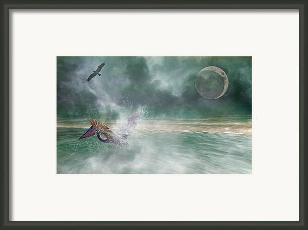 Mystical Beach Framed Print By Betsy A Cutler Islands And Science