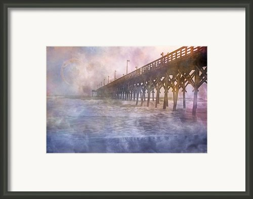 Mystical Morning Framed Print By Betsy A Cutler East Coast Barrier Islands