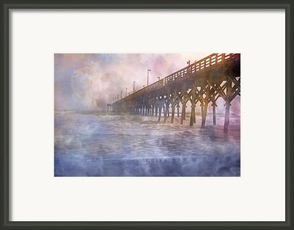 Mystical Morning Framed Print By Betsy A Cutler Islands And Science