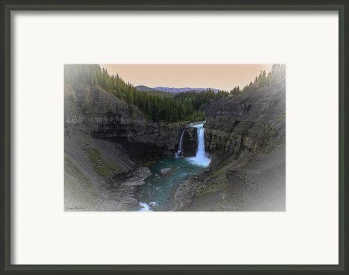 Mystical Mountain Morn Framed Print By Laura Bentley