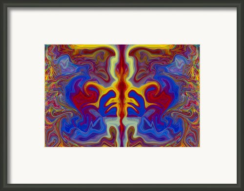 Myths Of Dragons Framed Print By Omaste Witkowski