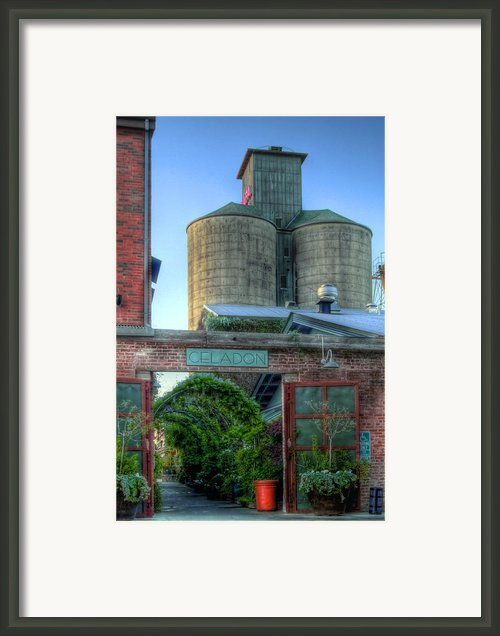 Napa Mill Framed Print By Bill Gallagher