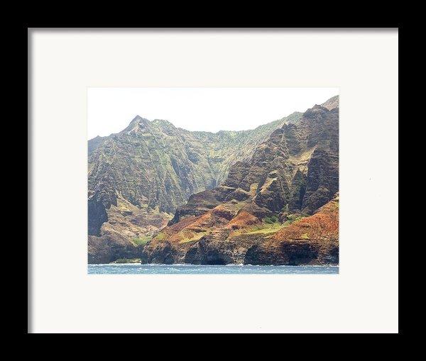 Napali Coast  Framed Print By Shaun Maclellan