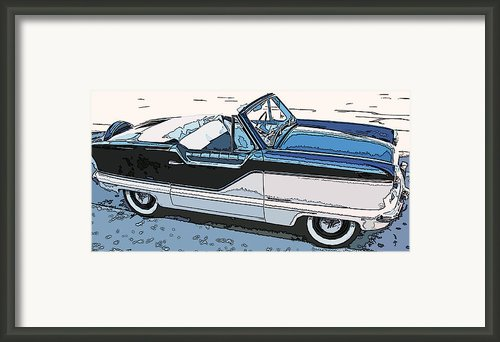 Nash Metropolitan Series 4 Framed Print By Samuel Sheats