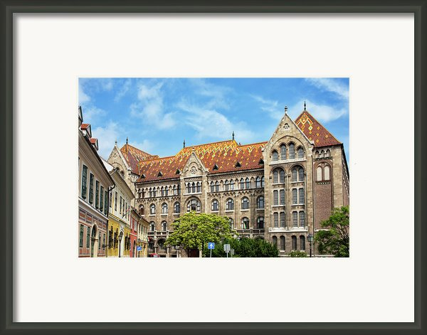 National Archives Of Hungary Framed Print By Artur Bogacki