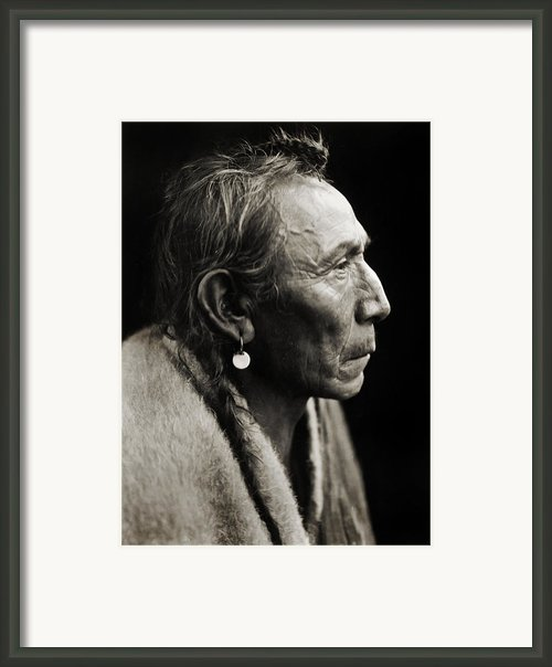 Native American Aki-tanni Two Guns Framed Print By The  Vault