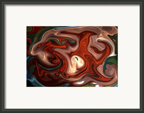 Natural Flow Framed Print By Aidan Moran