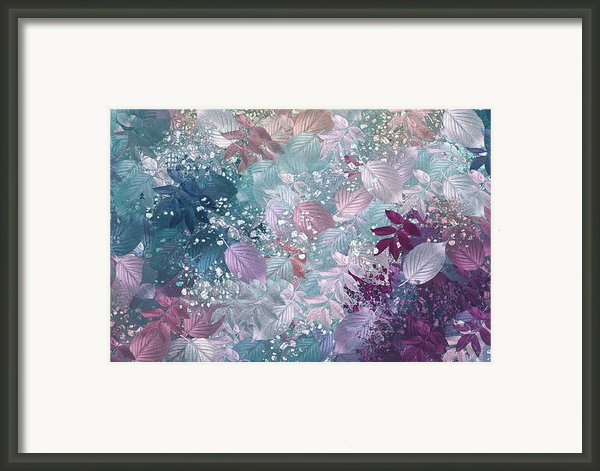 Naturaleaves - S1002b Framed Print By Variance Collections