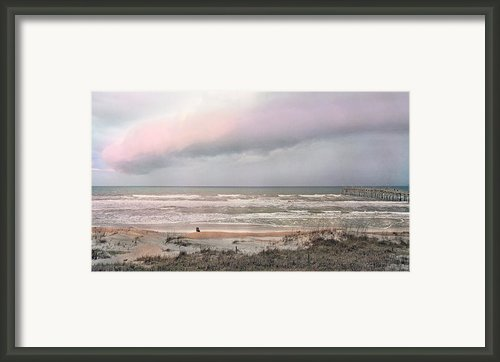 Nature Is An Artist Framed Print By Betsy A Cutler East Coast Barrier Islands