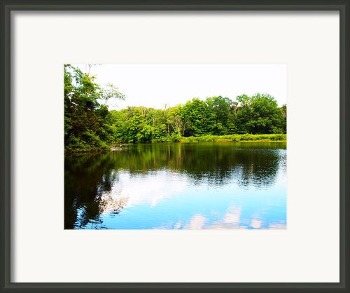 Natures Mirror Framed Print By Deborah Fay