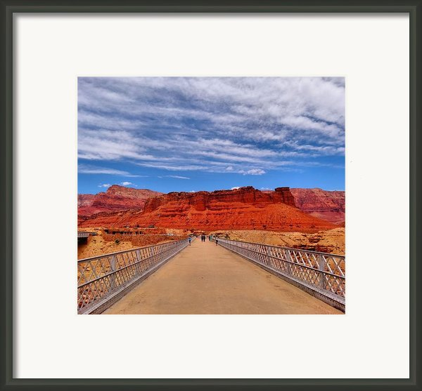 Navajo Bridge Framed Print By Dan Sproul