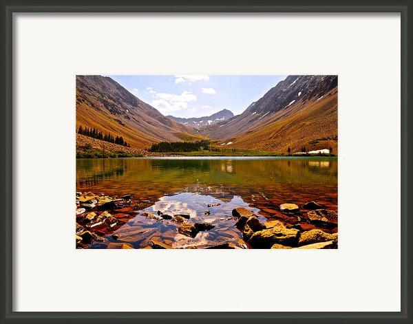 Navajo Lake Framed Print By Aaron Spong