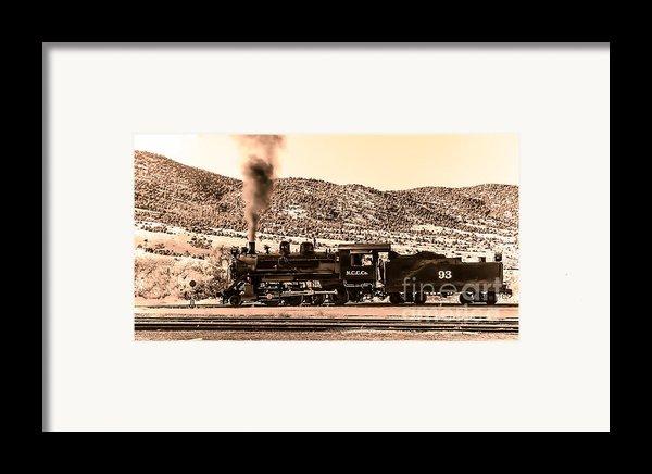 Nevada Northern Railway Framed Print By Robert Bales