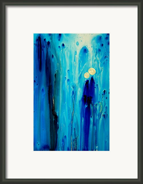 Never Alone Framed Print By Sharon Cummings