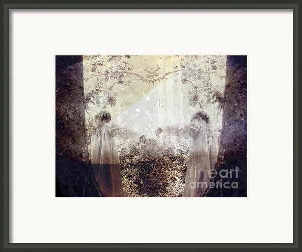 Never Grow Up Framed Print By Ellen Cotton