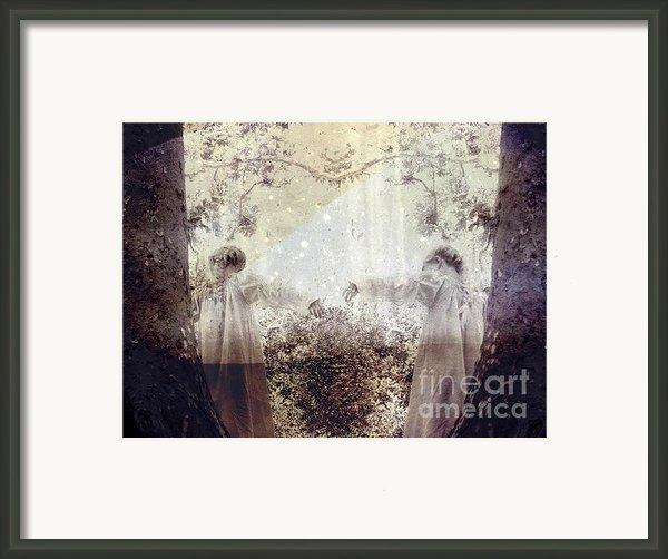 Never Grow Up Framed Print By Ellen Cotton