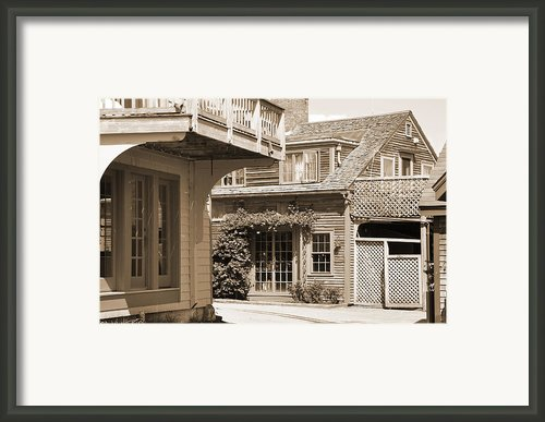 New England Home Framed Print By Kirt Tisdale