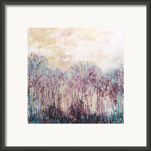 New England Landscape No.100 Framed Print By Sumiyo Toribe