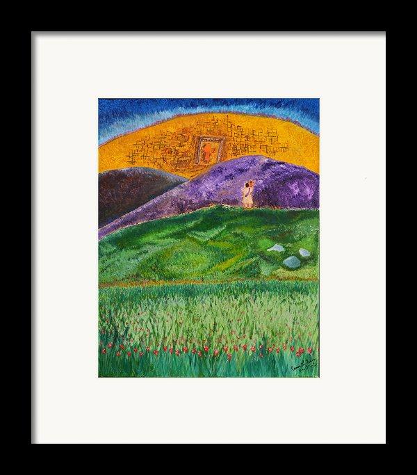 New Jerusalem Framed Print By Cassie Sears