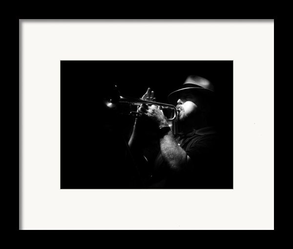 New Orleans Jazz Framed Print By Brenda Bryant