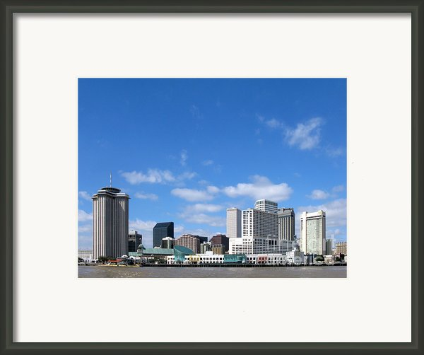 New Orleans Louisiana Framed Print By Olivier Le Queinec