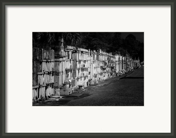 New Orleans St Louis Cemetery No 3 Framed Print By Christine Till