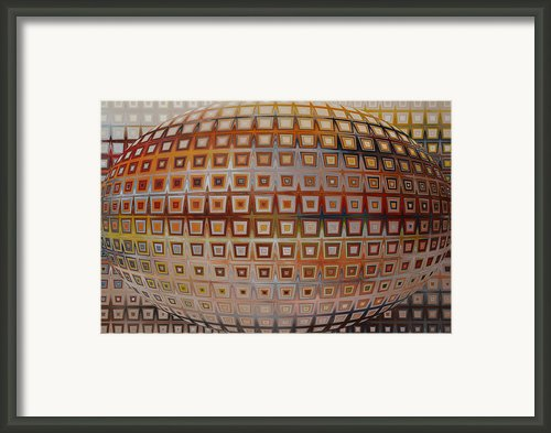 New Planet  Framed Print By Andrada Anghel