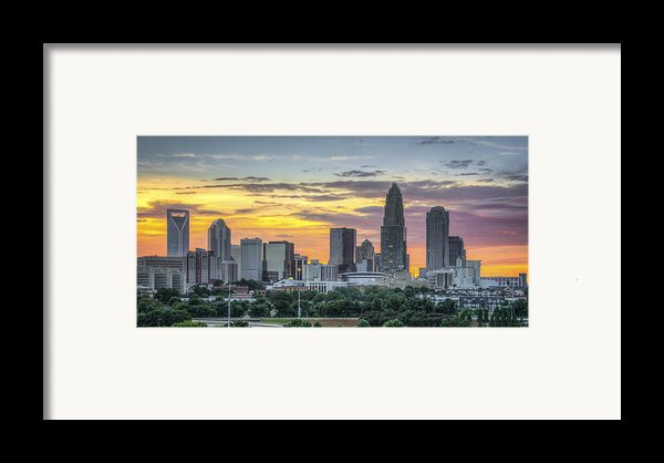 New South Summer Sunset Framed Print By Brian Young