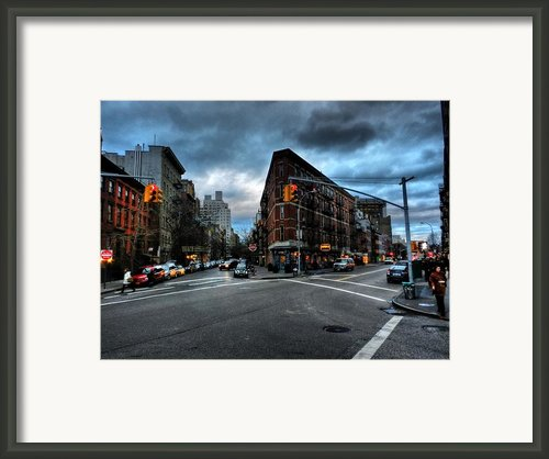 New York City - Greenwich Village 012 Framed Print By Lance Vaughn
