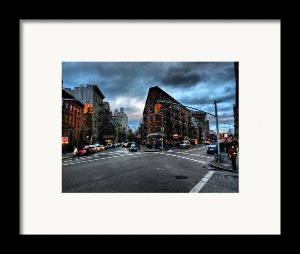 New York City - Greenwich Village 012 Framed Print By Lance Vaughn