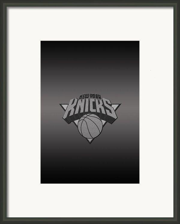 New York Knicks Framed Print By Paulo Goncalves