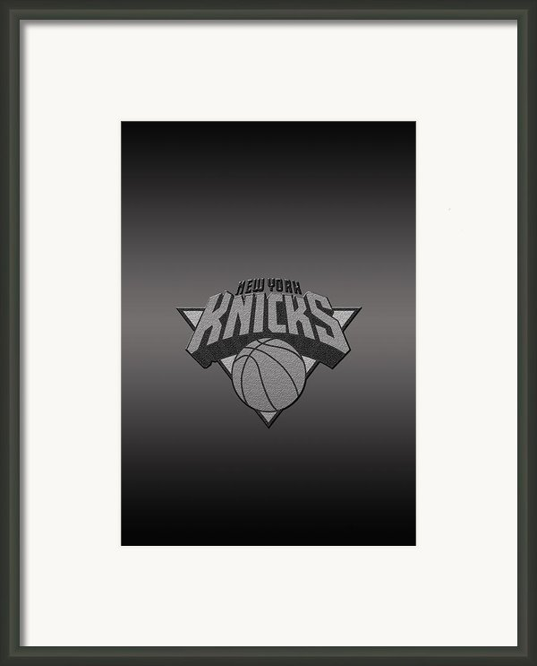 New York Knicks Framed Print By Paulo Goncalves