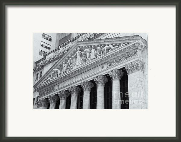 New York Stock Exchange Ii Framed Print By Clarence Holmes