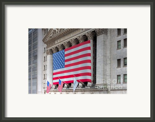 New York Stock Exchange Iii Framed Print By Clarence Holmes