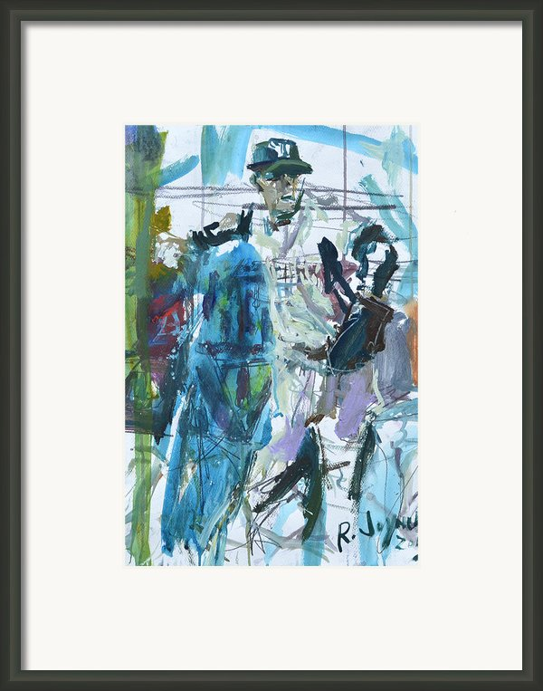 New York Yankees Artwork Framed Print By Robert Joyner