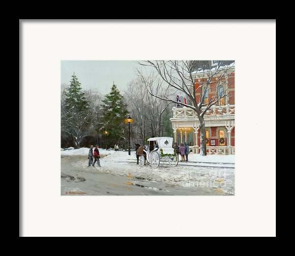 Niagara Carriage By The Prince Of Wales Framed Print By Michael Swanson