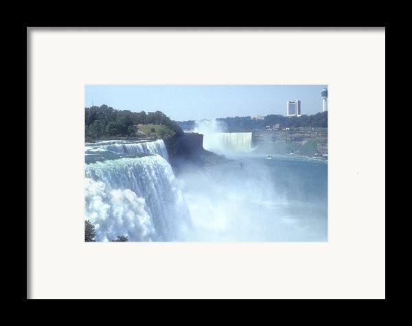 Niagara Falls - New York Framed Print By Mike Mcglothlen