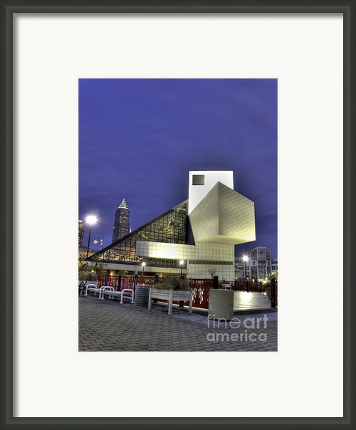Night At The Fame Framed Print By David Bearden
